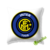 Inter Milan Logo Square Pillow Cover