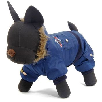 Small Medium Large Pet Dog Clothes Hooded Jacket Coat for Dogs Costume Teddy Cat Jumpsuit Romper Warm Clothing Winter