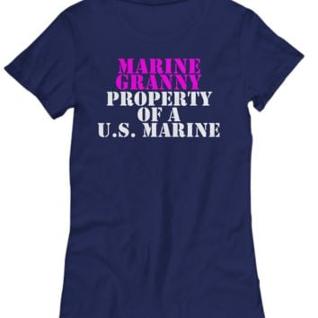 Military - Marine Granny - Property of a U.S. Marine