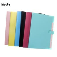 Accordion Design Multifunction A4 Document Holder A4 Paper Folder Storage Binder Pouch Package Office School Filing Storage Bag