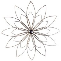 Copper Metal Flower Wall Decor with Bling Center | Shop Hobby Lobby