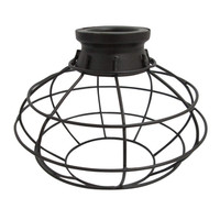 Shop Portfolio 6.75-in H x 8-in W French Bronze Metal Mix and Match Mini Pendant Light Shade at Lowe's