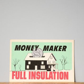 Vintage Money Maker Poster