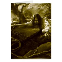 Jesus Christ Agony in the Garden of Gethsemane Card