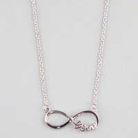 FULL TILT Infinite Love Necklace 225027140 | Necklaces