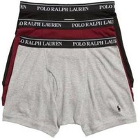 Polo Ralph Lauren Men's Logo Cotton Boxer Shorts - Black - Size Medium