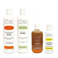 ETAE Natural Products Shampoo Conditioner Treatment Gloss  4 Items