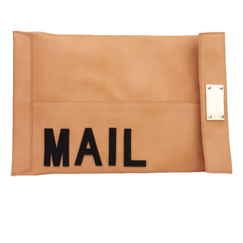 You've Got Mail Clutch - Beige