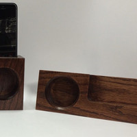 SALE - Night Stand and Compact Acoustic iPhone Speaker Package
