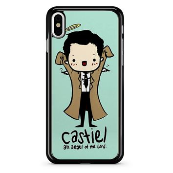 Castiel - Angel Of The Lord iPhone X Case