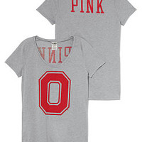 The Ohio State University Scoopneck Tee - PINK - Victoria's Secret