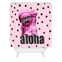 Deb Haugen my buddy Shower Curtain