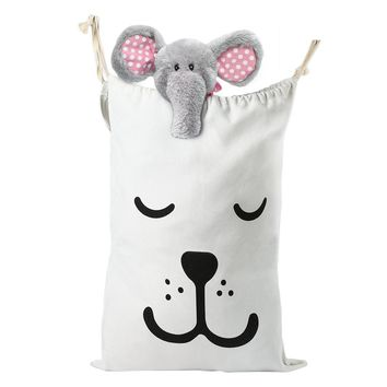 Baby Canvas Laundry Bag