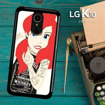 Tattooed Ariel Y0119 LG K10 2017 / LG K20 Plus / LG Harmony Case