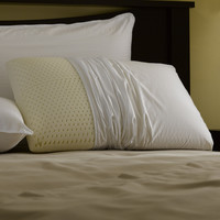 Restful Nights Even Form Latex Pillow King-Size Synthetic Pillows