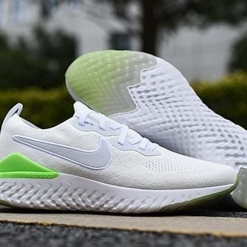 HCXX 19Aug 555 Nike Epic React Flyknit 2 BQ8927-005 Mesh Sneaker Breathable Casual Running Shoes