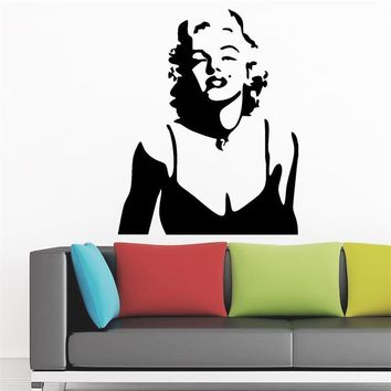 Marilyn Monroe Lips Decorative Wall Stickers