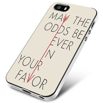 Hunger Games Quote iPhone 5   5S   5SE Case Planetscase.com