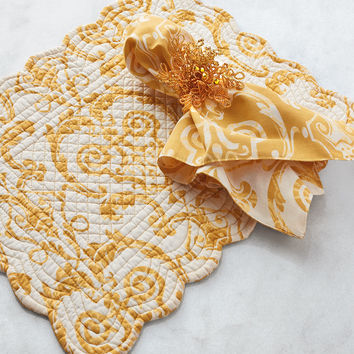 Florence Reversible Placemats, Set of 4 - Neiman Marcus