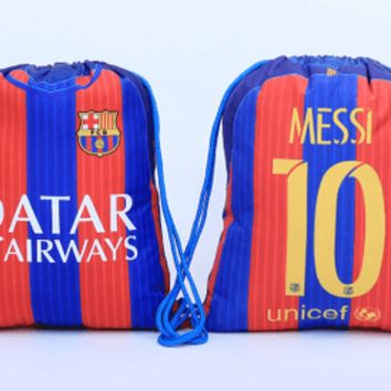 KUYOU Barcelona 16/17 Waterproof Sport Backpack Could Custom Name and Number