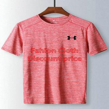 Under Armour Casual Womens Short Sleeve T-Shirt M-5X 18008 Red