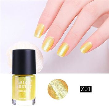 Mermaid Glitter Nail Polish 9ml Shell Shimmer Lacquer Varnish Manicure Nail Enamel Polish