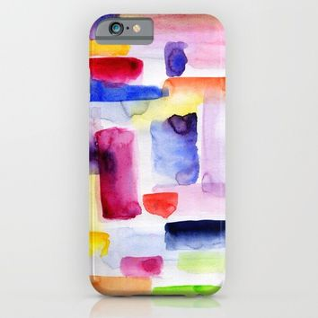 Color Block iPhone & iPod Case by Miss L In Art