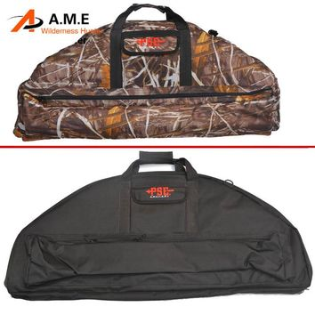 Hot Sale Archery Hunting Compound Bow Bag Padded layer of foam to protect the bow and arrow hunter's bow hunting bag archery bag