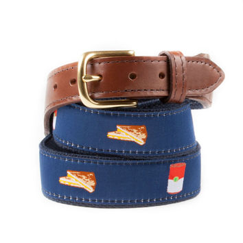 Grilled Cheese and Tomato Soup Ribbon Belt