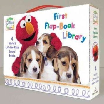 Elmo's World First Flap-Book Library (Sesame Street Elmos World)