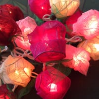 Lets preparing your valentine with String Lights - ROSE