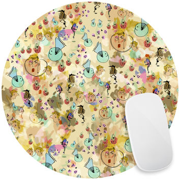 Confetti Peeps Mouse Pad Decal