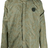 Army Green Jacket All Over Print by OFF-WHITE