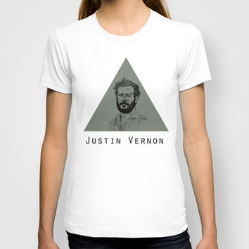 Justin Vernon - Bon Iver T-shirt by TwO Owls | Society6