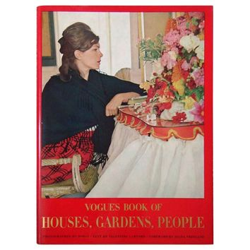 Vogues Book of Houses, Gardens, People