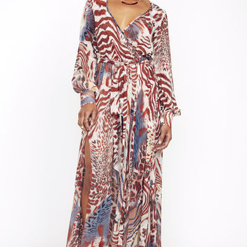 Olivaceous Maxi Dress