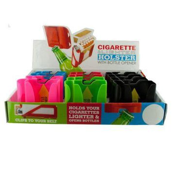 Cigarette Holster with Bottle opener Countertop Display (Available in a pack of 24)