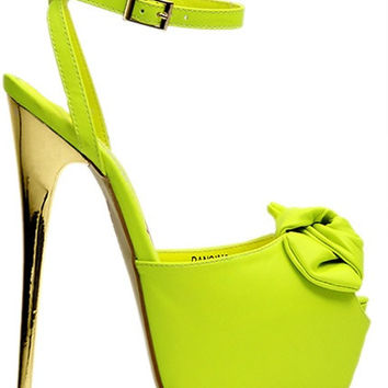 Sierra 5 inch pumps (lime)