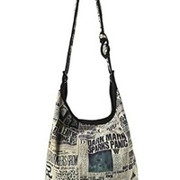 Harry Potter Daily Prophet Headlines Hobo Bag Handbag Mixed Bag Fast Shipping From NJ