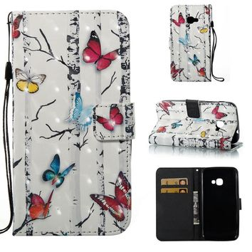 Luxury Case for Samsung Galaxy X Cover 4 Phone Cases Wallet PU Leather Case Cover For Samsung X Cover4 G390F Card Holder
