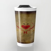 The Gambler Travel Mug by Jessica Ivy