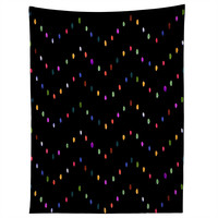 CayenaBlanca Water Lights Black Tapestry