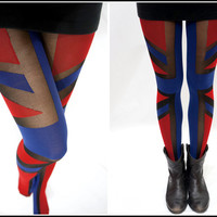 Sandysshop — Flag Pantyhose/ stockings/ tights