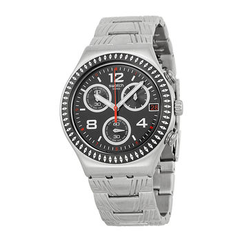 Swatch Irony Offset Mens Chronograph Quartz Watch YCS576G