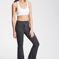 Heathered Fit & Flare Pants
