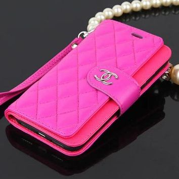 CHANEL Fashion iPhone Phone Cover Case For iPhone X