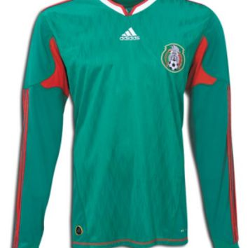 Mexico Jersey Long Sleeves 2010