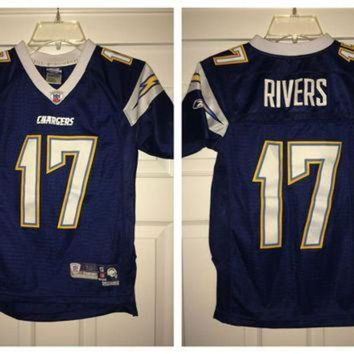 PEAPYD9 Sale!! Reebok San Diego CHARGERS Football Jersey Authentic NFL Shirt