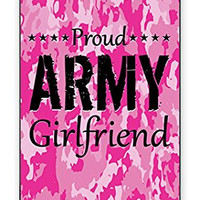 The Best Pink Camo Military Army Girlfriend Camouflage Direct UV Printed iPhone 5C Quality Hard Snap On Case for iPhone 5C - AT&T Sprint Verizon - White Case