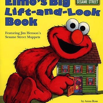 Elmo's Big Lift-And-look Book (Sesame Street) (Great Big Board Book)